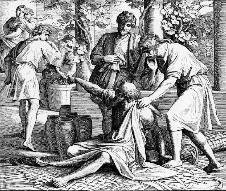 иллюстрация к библии БЫТИЕ глава 9