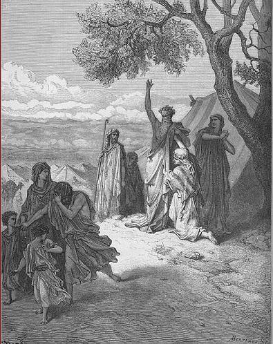 иллюстрация к библии Книга Бытие глава 9
