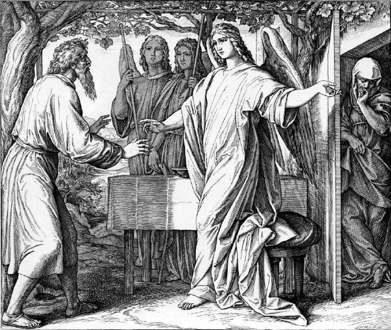 иллюстрация к библии БЫТИЕ глава 18