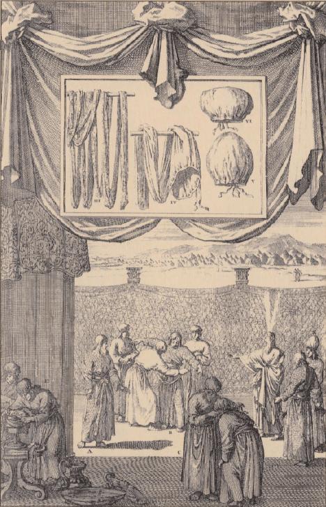 иллюстрация к библии Левит глава 6