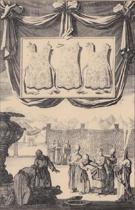 иллюстрация к библии Левит глава 16