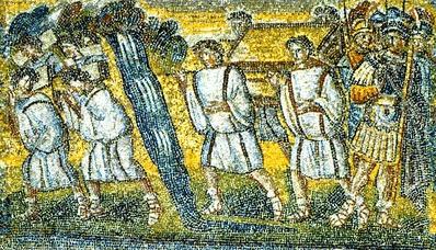 иллюстрация к библии Иисус Навин глава 3