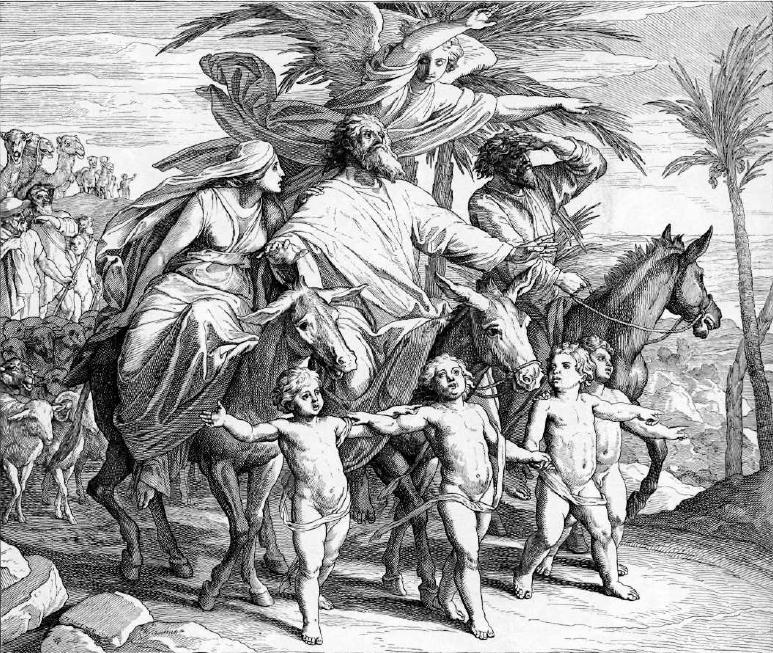 иллюстрация к библии БЫТИЕ глава 12