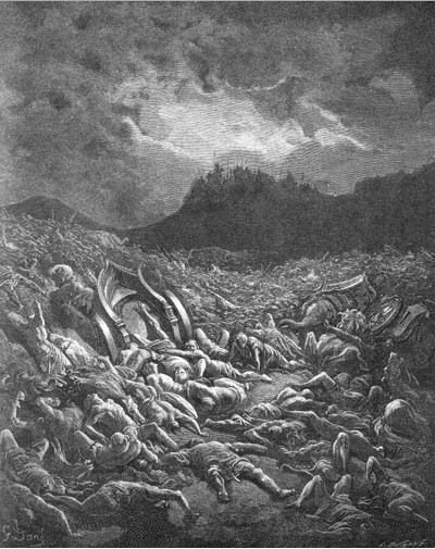 иллюстрация к библии ВТОРАЯ КНИГА ПАРАЛИПОМЕНОН глава 20