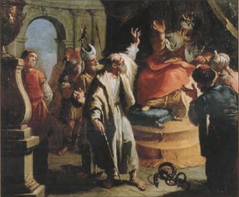 иллюстрация к библии Исход глава 6
