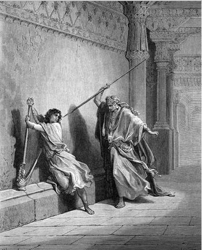 иллюстрация к библии ПЕРВА КНИГА ЦАРСТВ глава 18