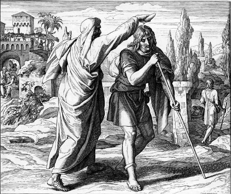 иллюстрация к библии ПЕРВА КНИГА ЦАРСТВ глава 9