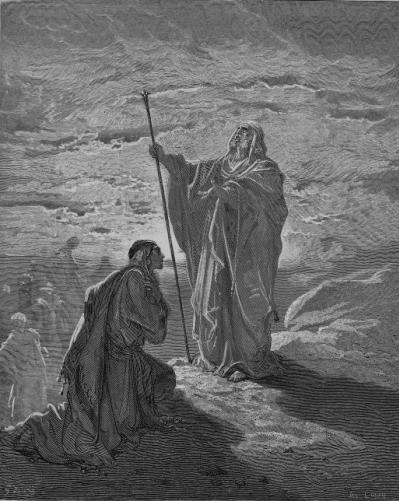 иллюстрация к библии ПЕРВА КНИГА ЦАРСТВ глава 10