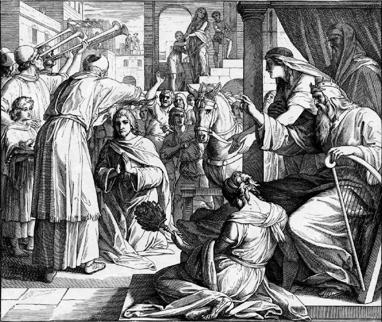 иллюстрация к библии ТРЕТЬЯ КНИГА ЦАРСТВ глава 1