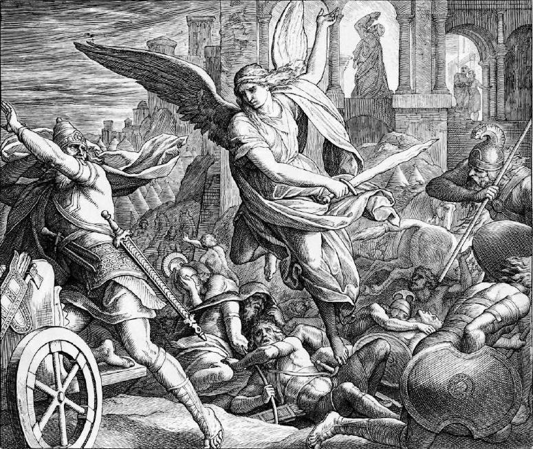 иллюстрация к библии ЧЕТВЁРТАЯ КНИГА ЦАРСТВ глава 19