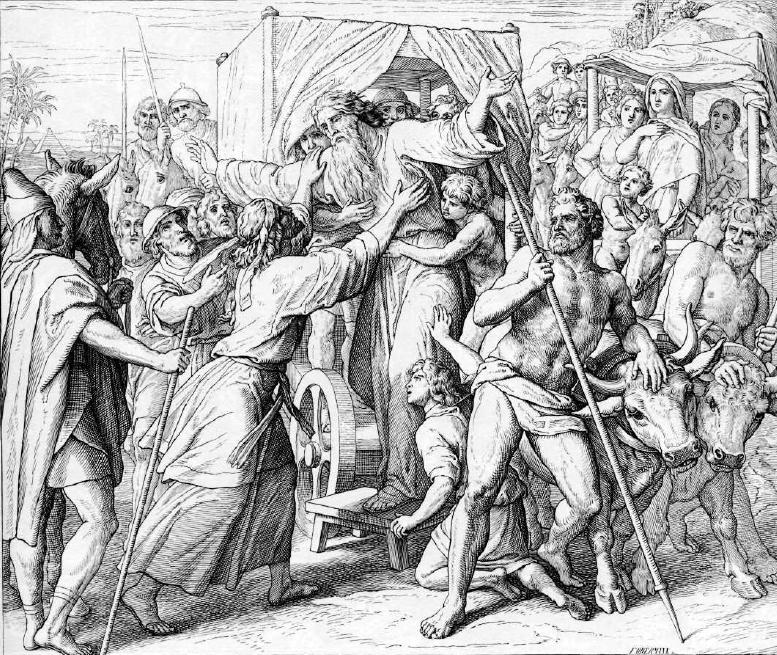 иллюстрация к библии БЫТИЕ глава 46