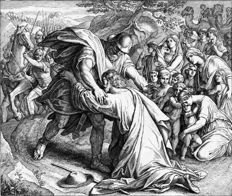 иллюстрация к библии БЫТИЕ глава 33