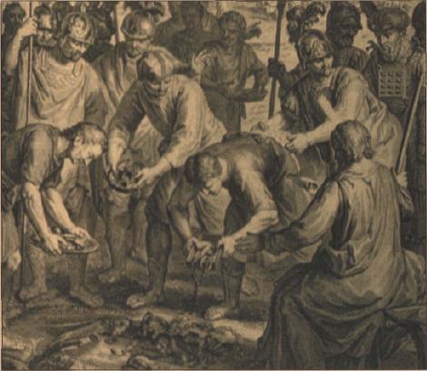 иллюстрация к библии ЧИСЛА глава 31