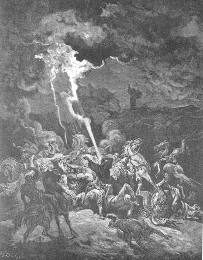 иллюстрация к библии ЧЕТВЁРТАЯ КНИГА ЦАРСТВ глава 1