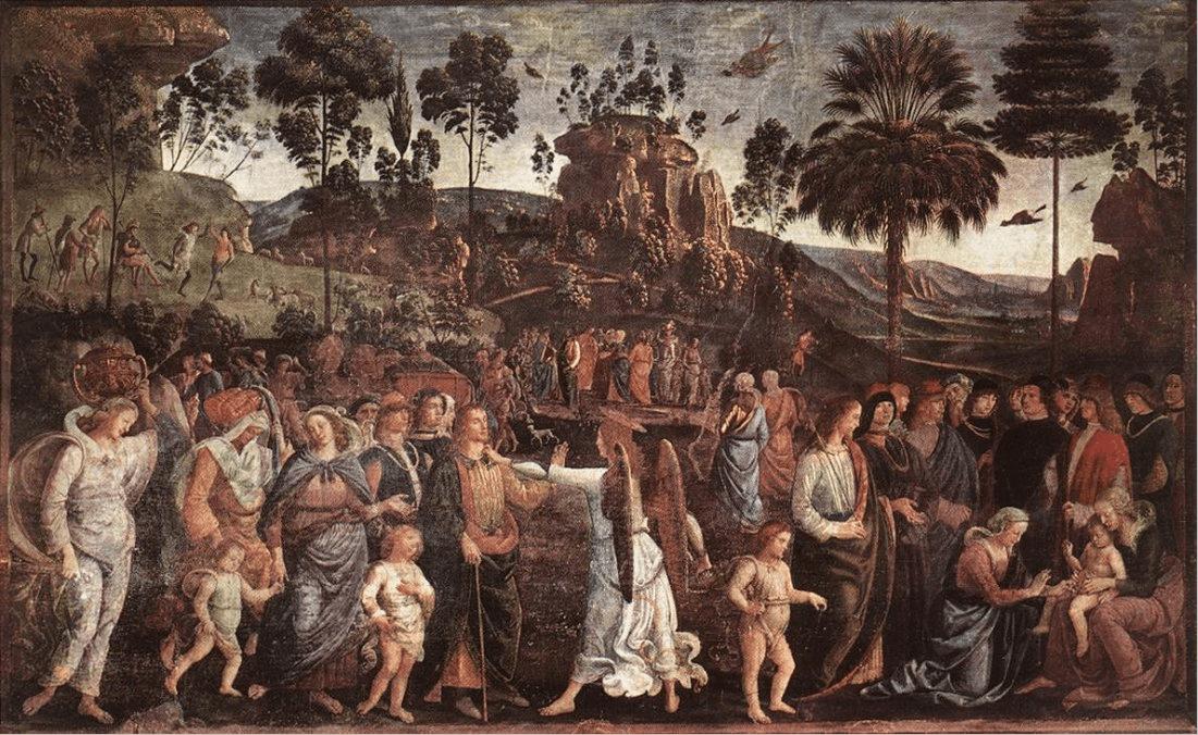 иллюстрация к библии Книга Исход глава 4