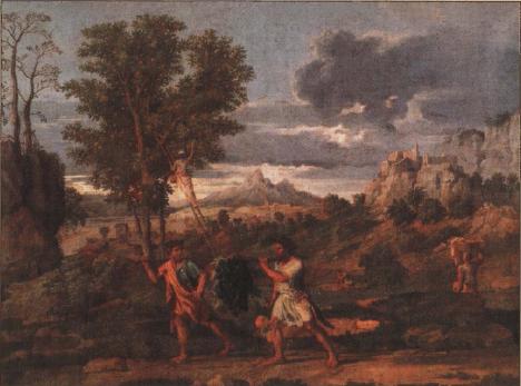 иллюстрация к библии ЧИСЛА глава 13