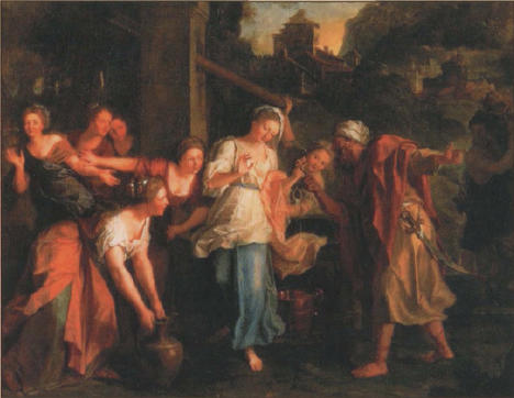иллюстрация к библии глава 24