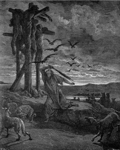 иллюстрация к библии ВТОРАЯ КНИГА ЦАРСТВ глава 21