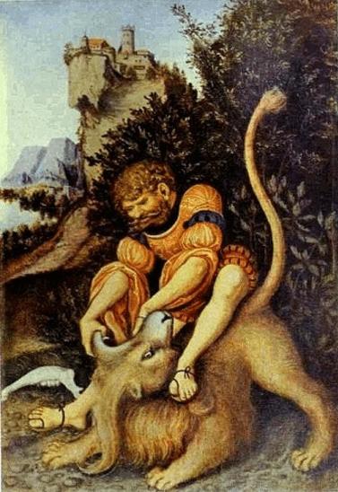 иллюстрация к библии КНИГА СУДЕЙ ИЗРАИЛЕВЫХ глава 14