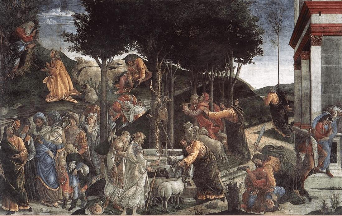 иллюстрация к библии Книга Исход глава 2