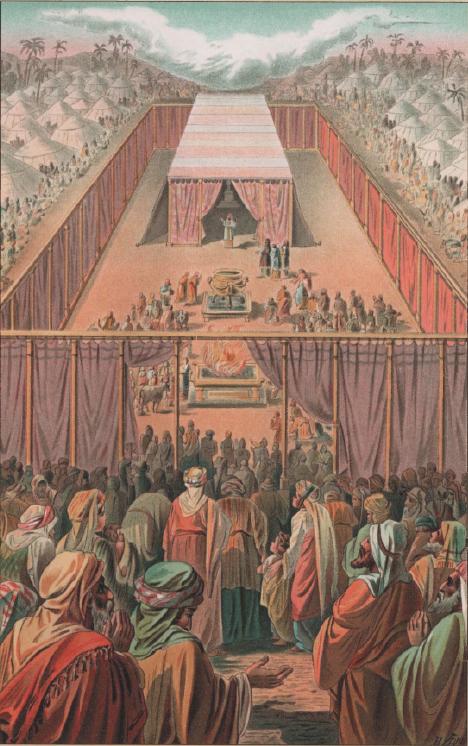 иллюстрация к библии Левит глава 2