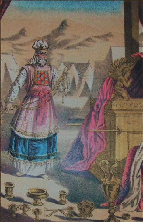 иллюстрация к библии Левит глава 1