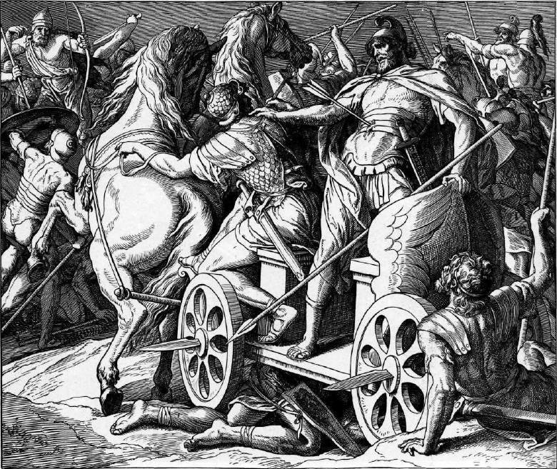 иллюстрация к библии ТРЕТЬЯ КНИГА ЦАРСТВ глава 24