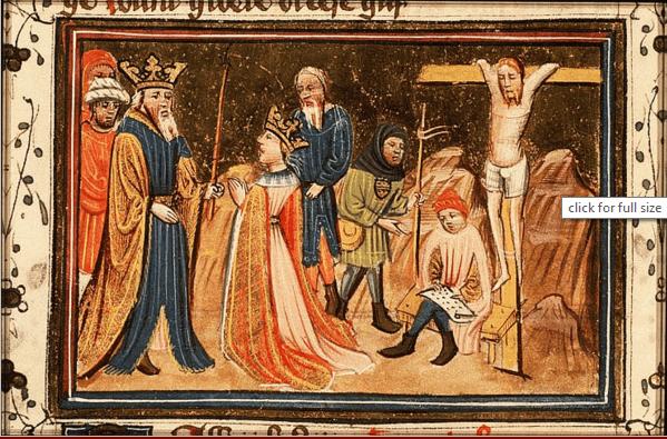 иллюстрация к библии КНИГА ЕСФИРЬ глава 7