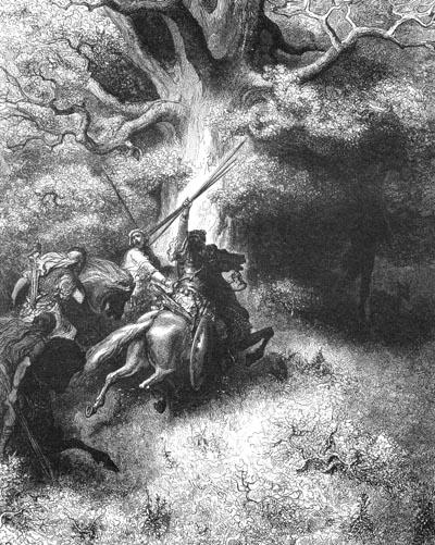 иллюстрация к библии ВТОРАЯ КНИГА ЦАРСТВ глава 18