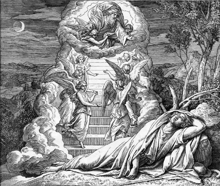 иллюстрация к библии БЫТИЕ глава 28