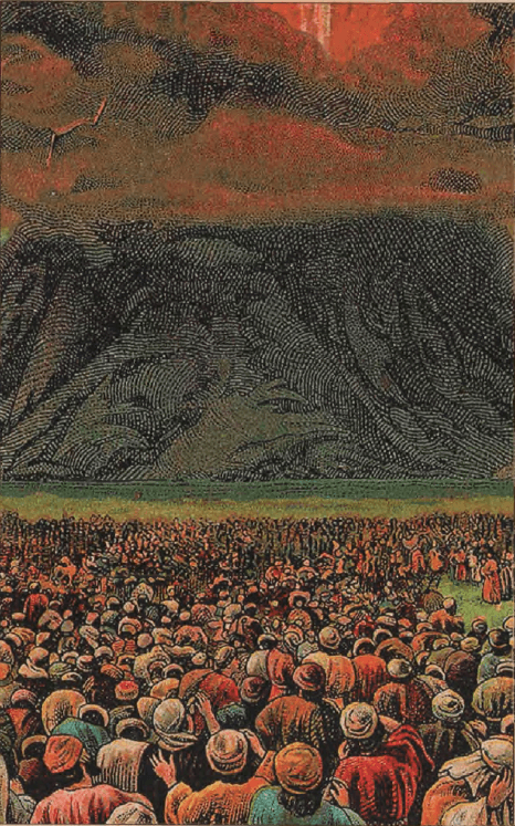 иллюстрация к библии Исход глава 19