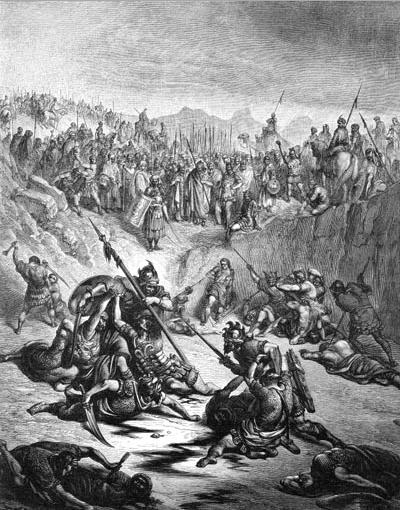 иллюстрация к библии ВТОРАЯ КНИГА ЦАРСТВ глава 2