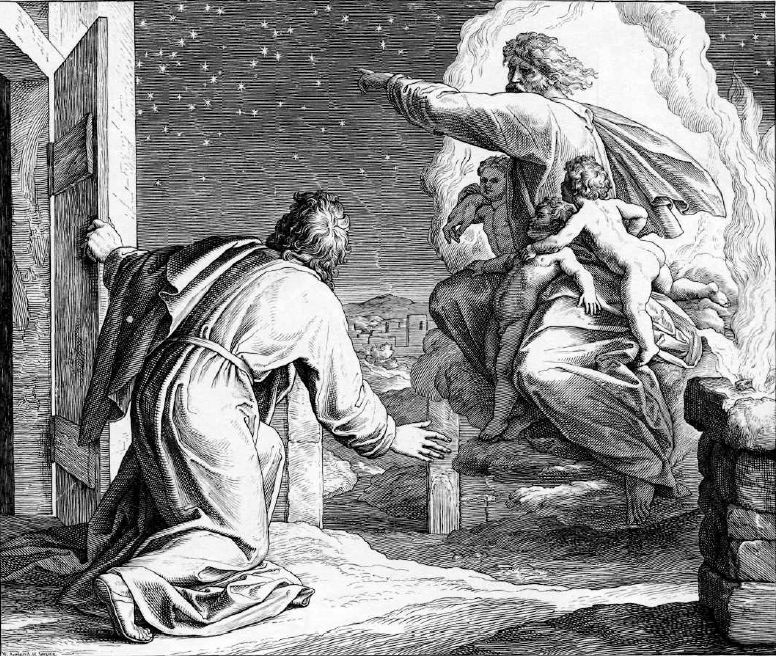 иллюстрация к библии БЫТИЕ глава 15