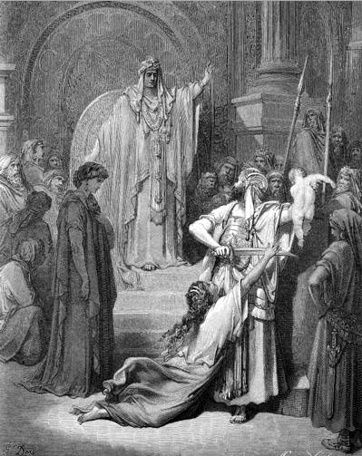 иллюстрация к библии ТРЕТЬЯ КНИГА ЦАРСТВ глава 3