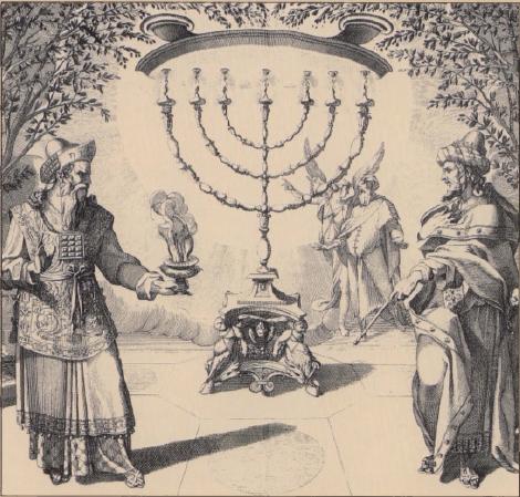 иллюстрация к библии Левит глава 21