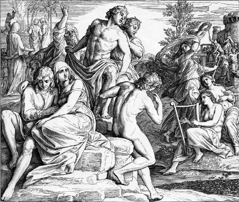 иллюстрация к библии БЫТИЕ глава 6