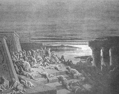 иллюстрация к библии Исход глава 10