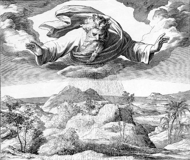 иллюстрация к библии БЫТИЕ глава 1