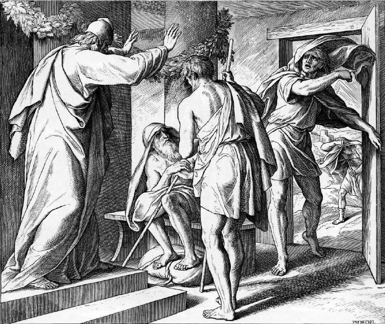 иллюстрация к библии КНИГА ИОВА глава 1