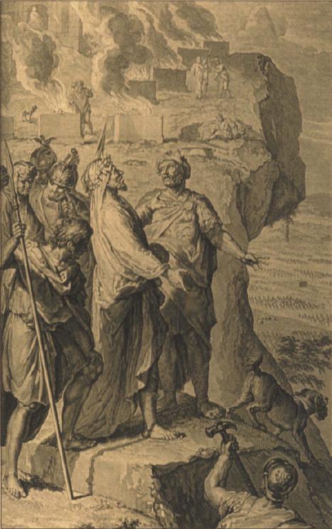 иллюстрация к библии ЧИСЛА глава 24