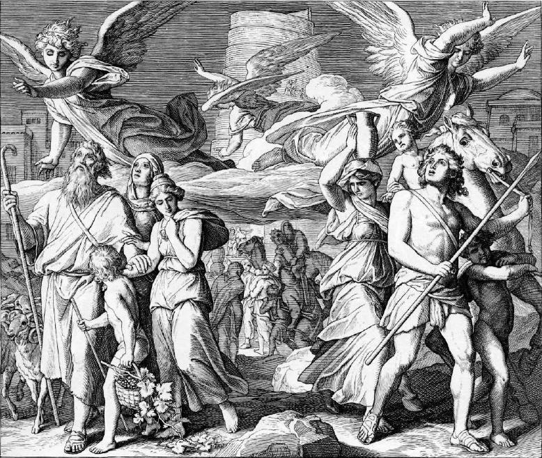 иллюстрация к библии БЫТИЕ глава 11