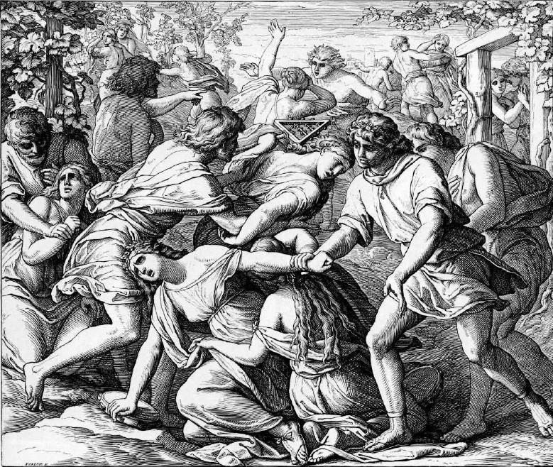 иллюстрация к библии КНИГА СУДЕЙ ИЗРАЕЛЕВЫХ глава 23