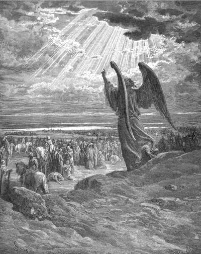иллюстрация к библии КНИГА СУДЕЙ ИЗРАЕЛЕВЫХ глава 2