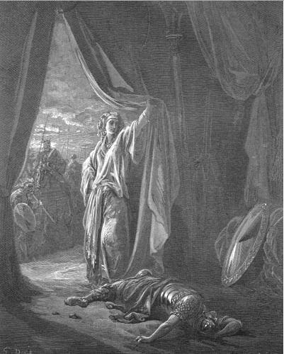 иллюстрация к библии КНИГА СУДЕЙ ИЗРАЕЛЕВЫХ глава 4