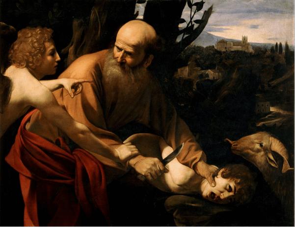 иллюстрация к библии Книга Бытие глава 22