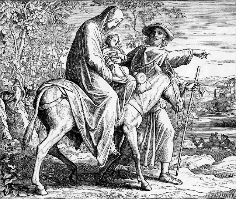 иллюстрация к библии ЕВАНГЕЛИЕ ОТ МАТФЕЯ глава 2