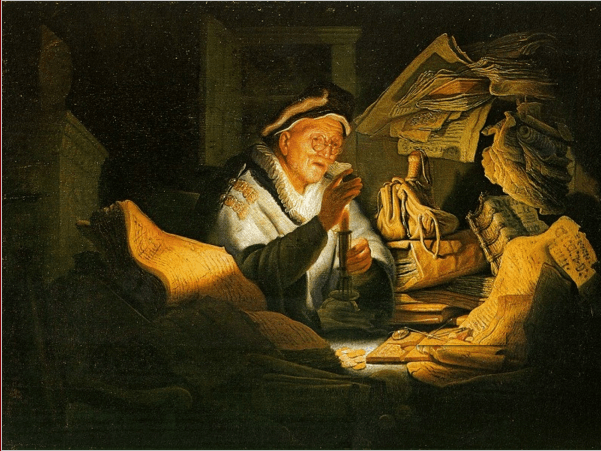 иллюстрация к библии ЕВАНГЕЛИЕ ОТ ЛУКИ глава 12
