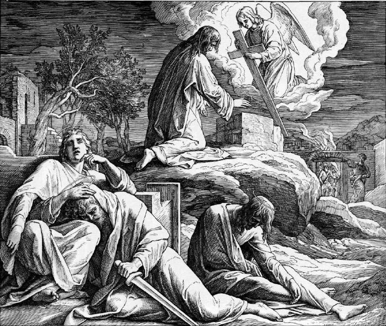 иллюстрация к библии ЕВАНГЕЛИЕ ОТ МАТФЕЯ глава 26