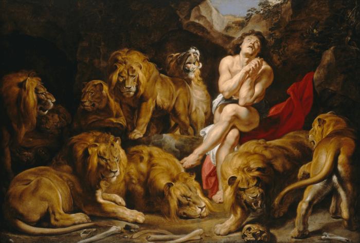 иллюстрация к библии КНИГА ПРОРОКА ДАНИИЛА глава 6