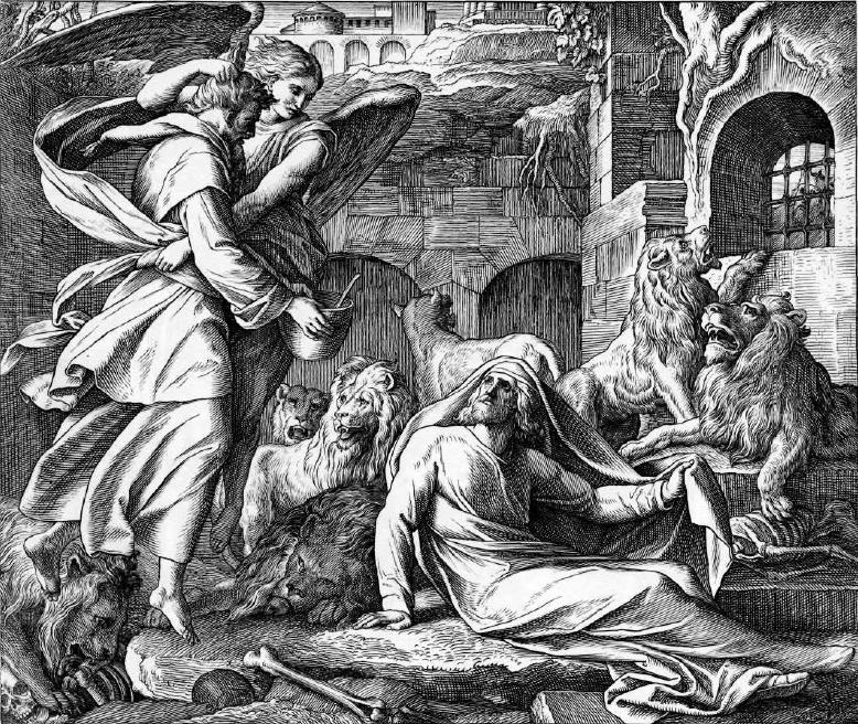 иллюстрация к библии КНИГА ПРОРОКА ДАНИИЛА глава 14
